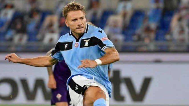 Penyerang Lazio, Ciro Immobile