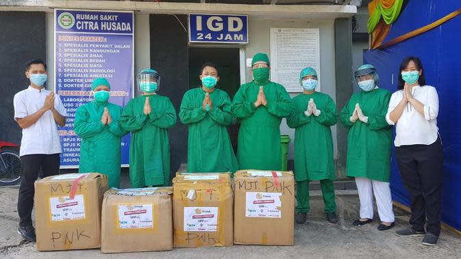 Emtek Peduli Corona, bantuan alat kesehatan ke sejumlah rumah sakit