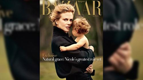 Nicole Kidman on Protecting Her Daughters