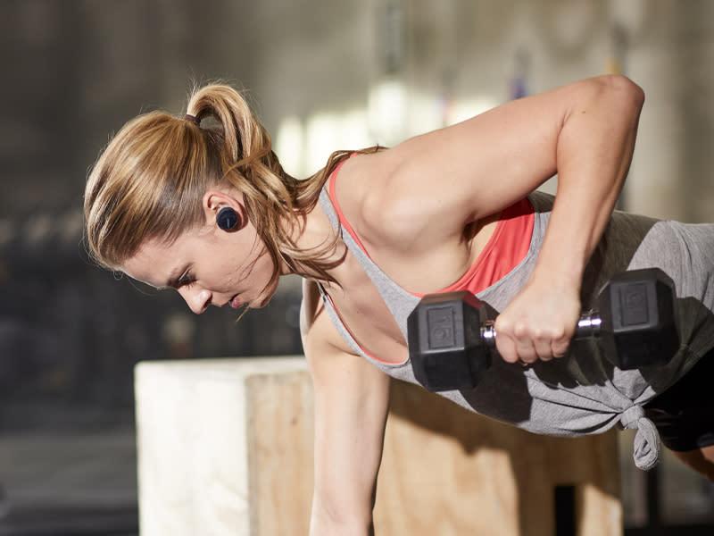 健康樂活型: 注重體態在家健身