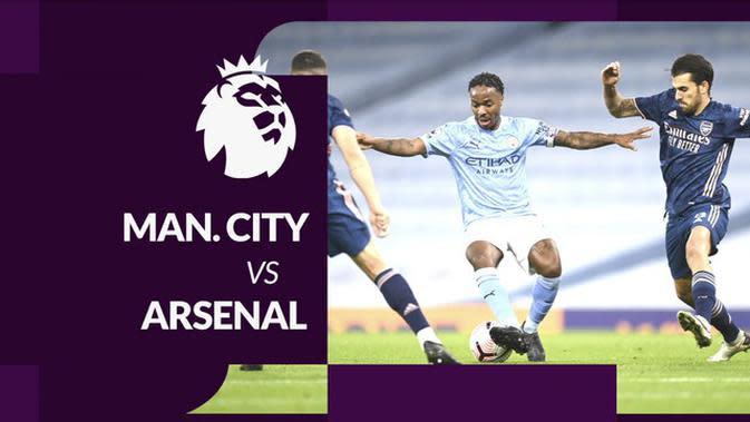 MOTION GRAFIS: Statistik Liga Inggris, Manchester City Kalahkan Arsenal Berkat Raheem Sterling