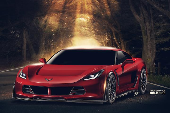 2017 Mid-Engine Corvette: An All-American Super Coupe
