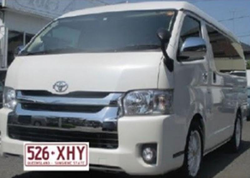 Police believe Mr Marius may be travelling in a Toyota Hi-Ace with the registration 526XHY. Source: Queensland Police