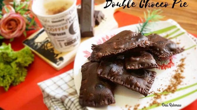 ilustrasi aneka resep pie coklat yang praktis, manis dan enak/Instagram: @desiirahmaw