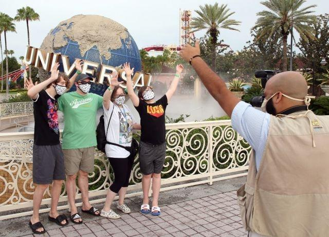 Universal Orlando is first big Florida theme park to reopen after virus