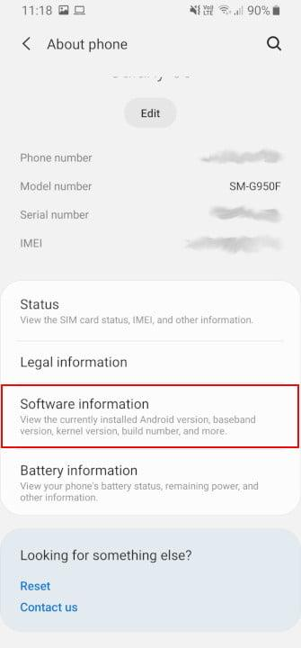 how to root android developer options 2