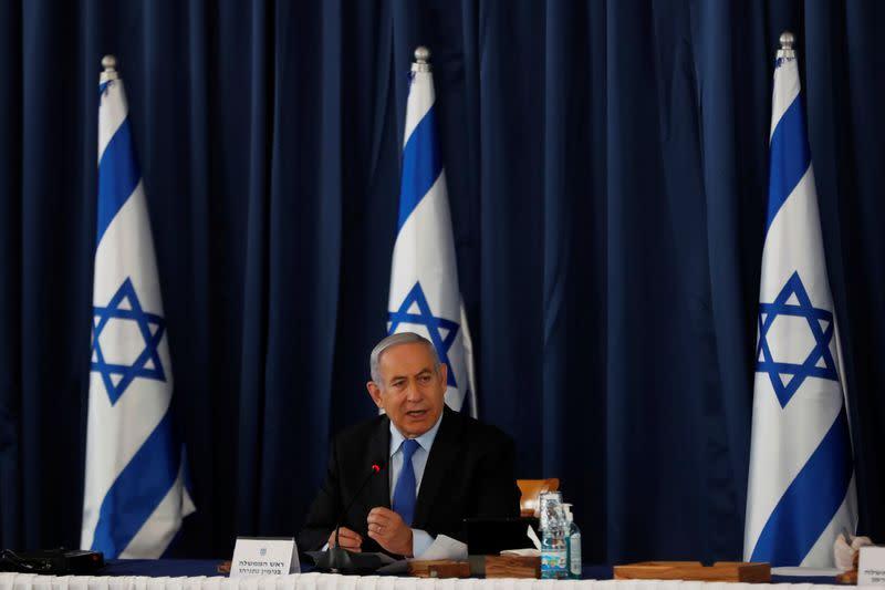 Under fire over coronavirus policy, Netanyahu announces money for all