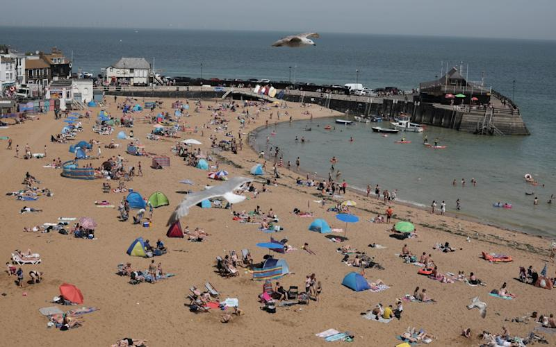 The UK has had its sunniest Spring on record - Getty