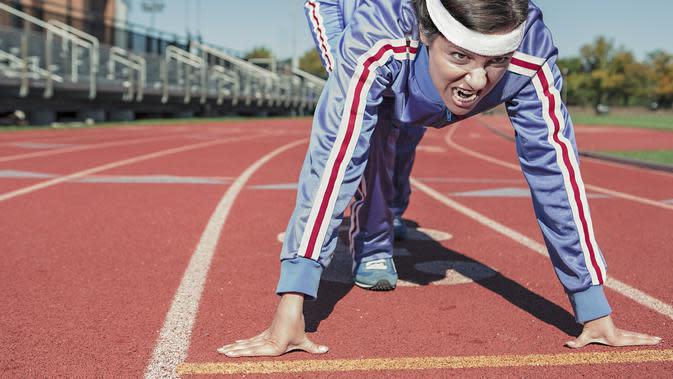Lari Jarak Pendek (Sumber: Pixabay)