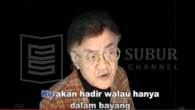 Potret Terbaru Eyang Subur (sumber: YouTube/Eyang Subur Official)