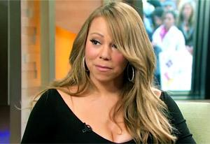 """VIDEO: Mariah Carey """"Almost Incapable"""" of Discussing Whitney Houston's Death"""