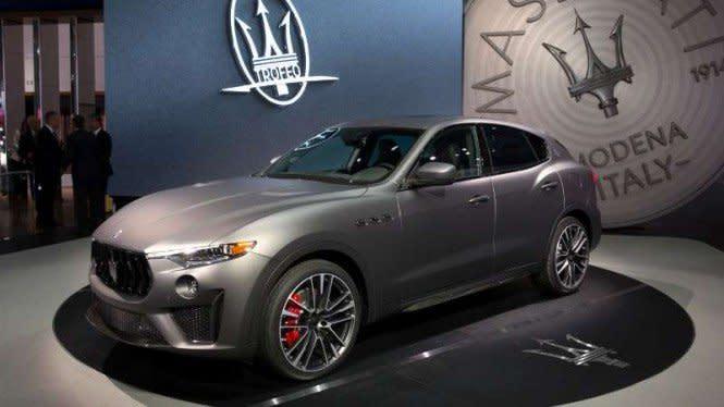 SUV Buas Maserati Bakal Meluncur di RI Bulan Depan