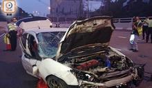 宵夜後駕跑車送女友人返家自炒 男司機拋出車外釀一死一傷
