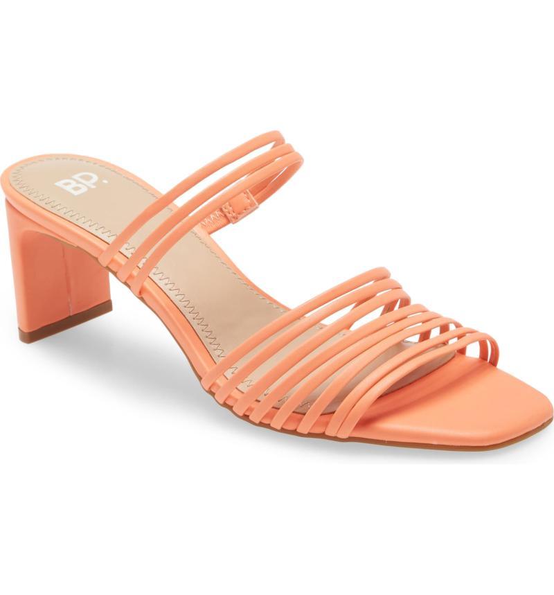 BP. Brittany Strappy Slide Sandal. Image via Nordstrom.