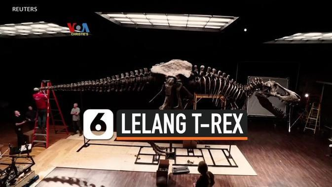 VIDEO: Lelang Disney Hingga T-Rex di Era Covid-19
