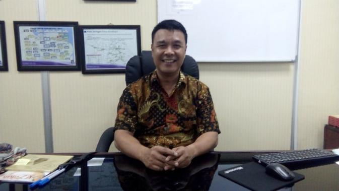 Kepala Dinkominfo Kota Surabaya, M. Fikser (Foto: Liputan6.com/Dian Kurniawan)