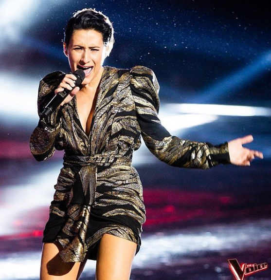 Diana Rouvas the voice winner 2019 performs at the finale