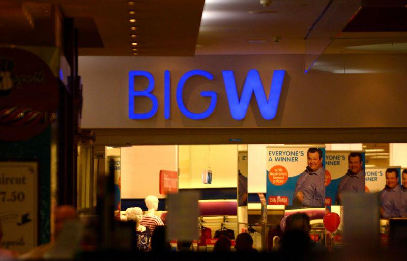 Big W. Source: AAP