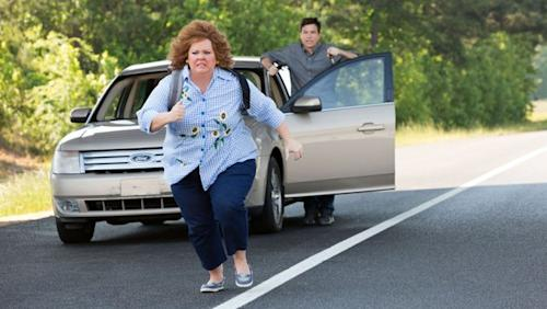 Melissa McCarthy punched Jason Bateman, gave him a bloody nose while filming 'Identity Thief'