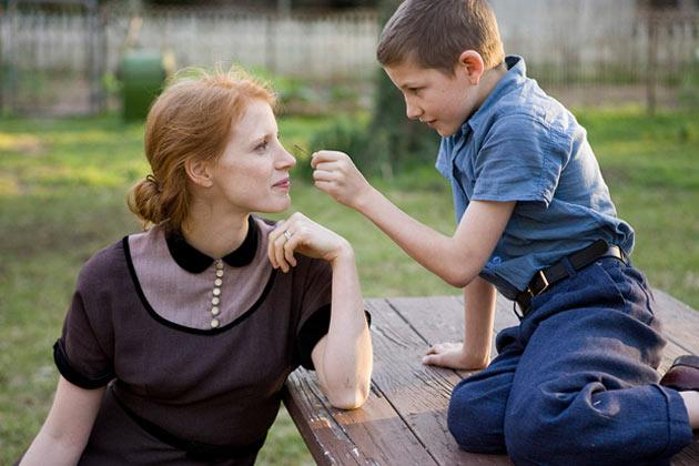 'Tree of Life' Star Jessica Chastain Talks About Her Very Busy Career