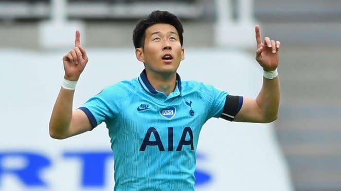 Winger Tottenham Hotspur, Son Heung-min