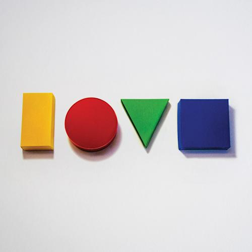 "In this CD cover image released by Atlantic Records, the latest release by Jason Mraz, ""Love,"" is shown. (AP Photo/Atlantic Records)"