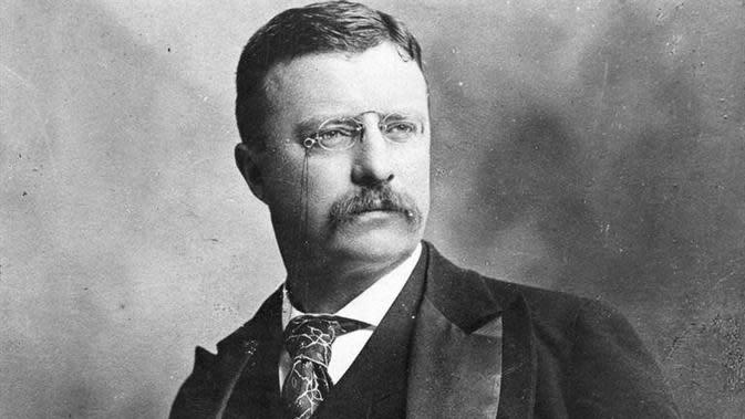 Presiden ke-26 Amerika Serikat Theodore Roosevelt (Biography.com)