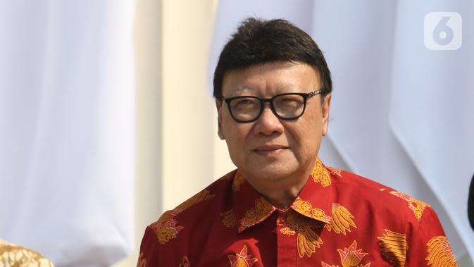 Menpan RB Tjahjo Kumolo (Liputan6.com/Angga Yuniar)