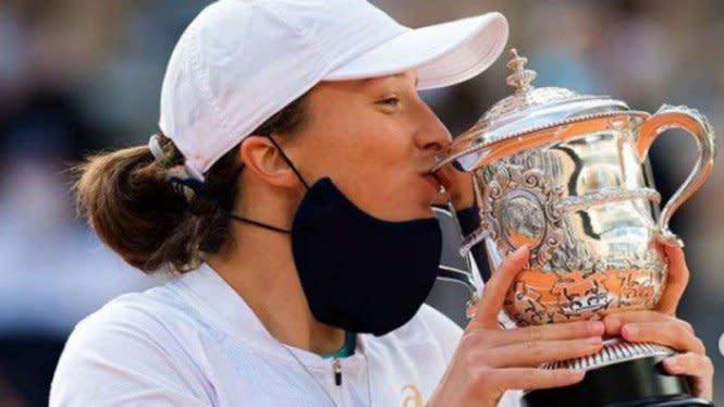Ungkapan Kegembiraan Iga Swiatek Usai Juarai French Open