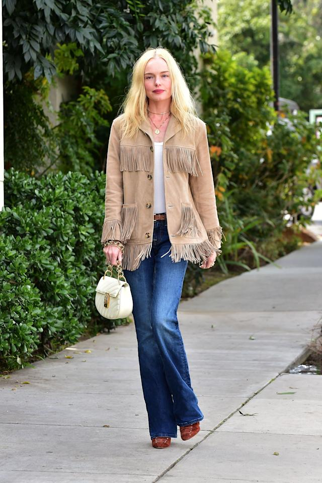 <p>Just because the temperatures are heating up doesn't mean layering is out the window this season. Get a jacket that can do both: one that looks stylish, but doesn't weigh you down in the heat. We narrowed it down to the six biggest jacket trends of the summer, worthy of bonfire nights, post-pool hangouts, and Kate Bosworth, our current (forever?) inspiration for tepid weather dressing.  Click through to see our faves ahead. </p>