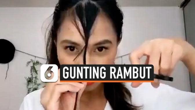 VIDEO: Tutorial Gunting Rambut Saat Menjalani Isolasi Diri di Rumah