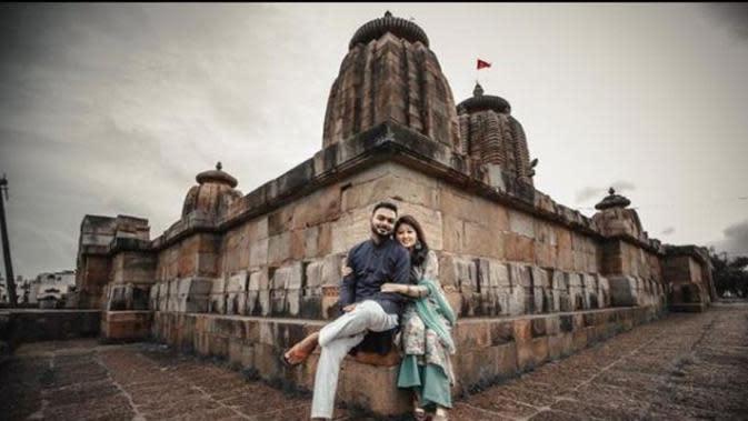 Pengantin di India Beri Makan 500 Hewan Liar di Hari Pernikahan. (dok.Instagram @eureka.apta/https://www.instagram.com/p/CFo9_EHlkWa/Henry)