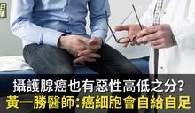 攝護腺癌也有惡性高低之分?不治療可能失明腦轉移?黃一勝醫師:癌細胞會自給自足