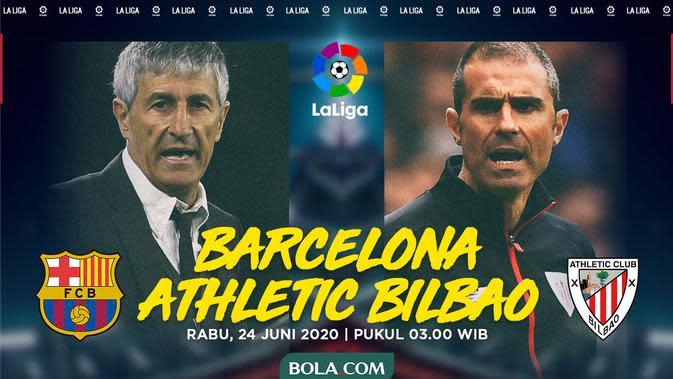 Link Live Streaming La Liga Pekan 31: Barcelona Vs Athletic Bilbao di Vidio