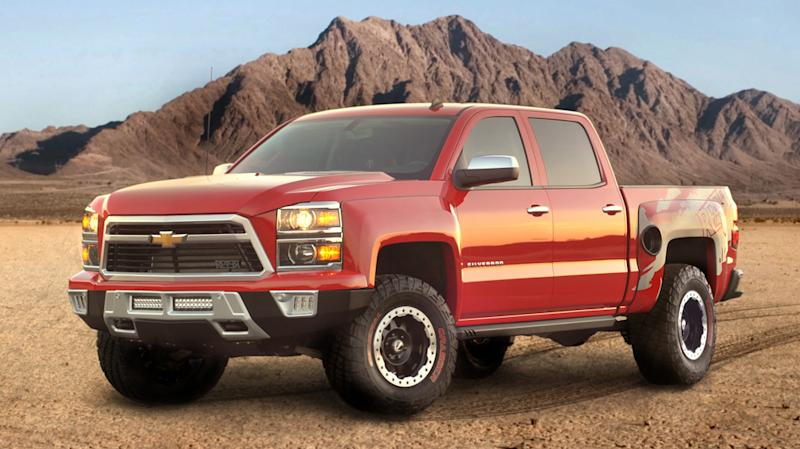 Chevrolet Silverado Reaper joins Ford's SVT Raptor as an Angry Birds truck