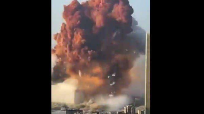 Ledakan di Beirut Lebanon, Kemlu: Satu WNI Luka-luka
