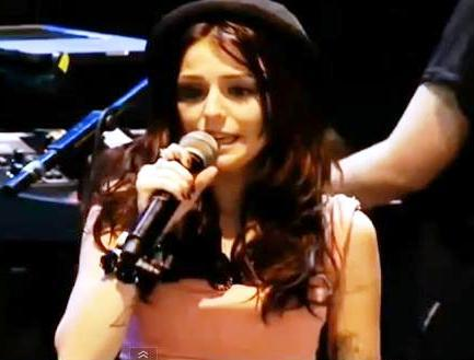Cher Lloyd Pelted With Urine-Filled Bottle At V Festival