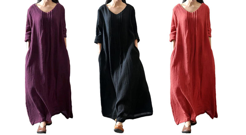 Romacci Women's Casual Loose Maxi (Photo: Amazon)
