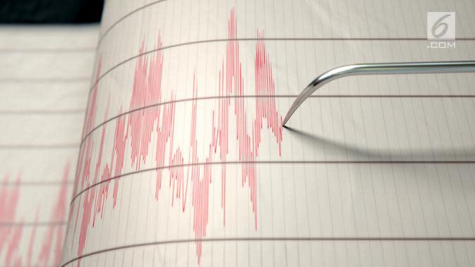 BMKG: Gempa Hari Ini 2 Kali Getarkan Tutuyan Sulawesi Utara
