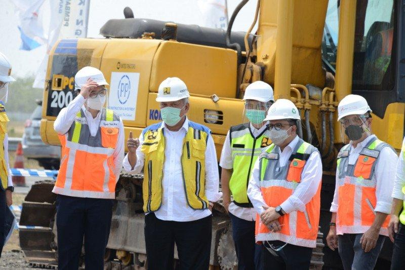 PP optimistis selesaikan pembangunan Jalan Tol Bandara Kertajati