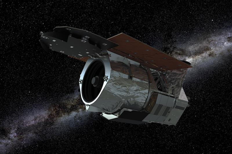 Artist's illustration of the WFIRST spacecraft.