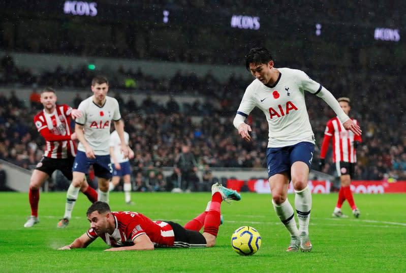 Premier League - Tottenham Hotspur v Sheffield United