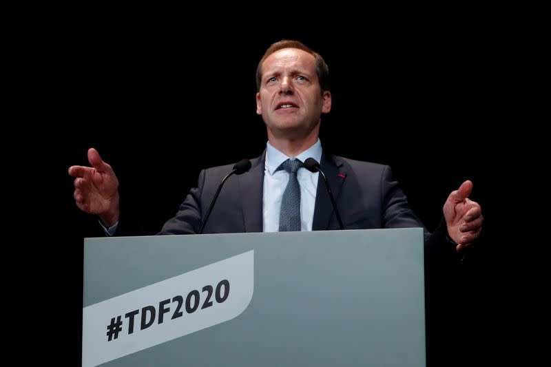 Tour de France director Prudhomme back on the race after testing negative for coronavirus