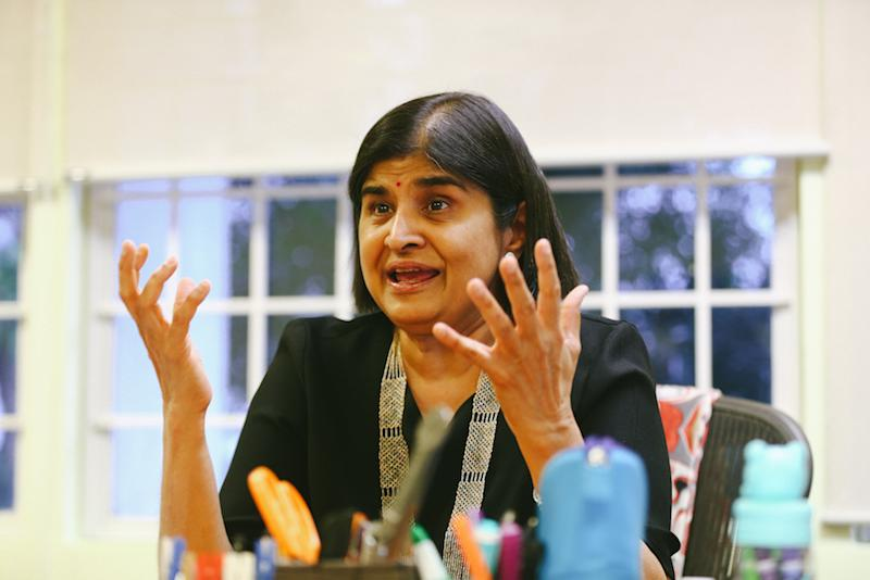 Datuk Ambiga Sreenevasan praised Tan for his integrity and professionalism.— Picture by Ahmad Zamzahuri