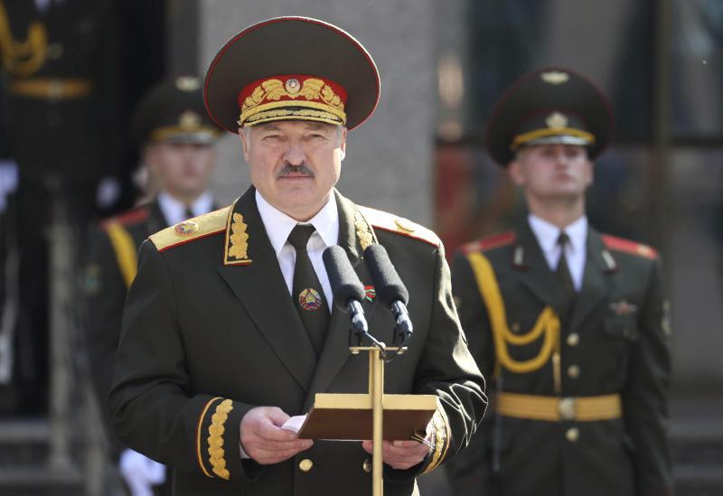 Belarus Lukashenko Inauguration