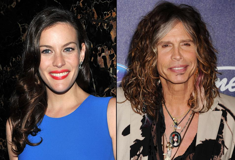 Liv Tyler, Steven Tyler, Actors with Musician Parents