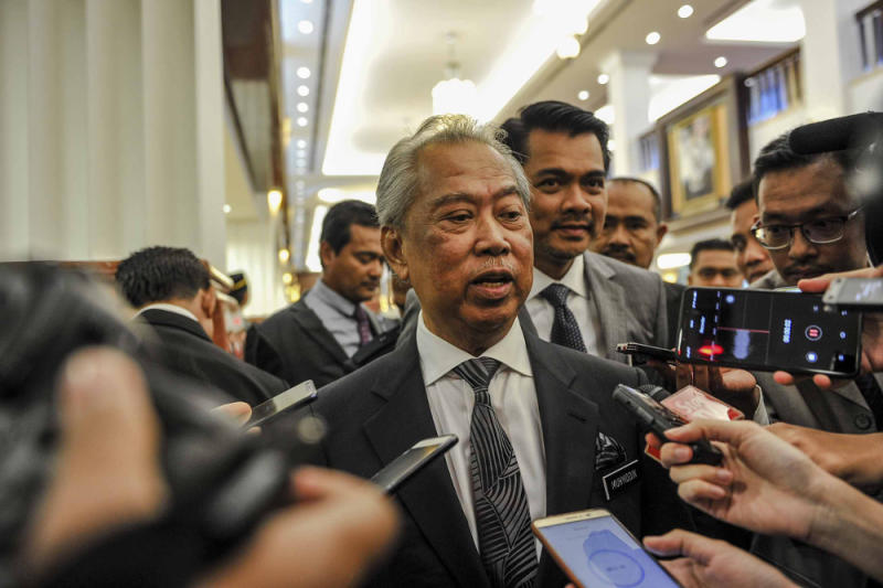 Muhyiddin said the AG had given specific instructions to the special taskforce looking into Teoh's death and that investigations are still ongoing. — Picture by Firdaus Latif