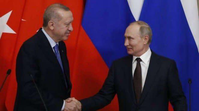 VIVA Militer: Recep Tayyip Erdogan dan Vladimir Putin