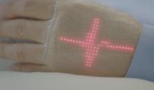 電子皮膚上有螢幕! 顯示訊息、監控健康數據