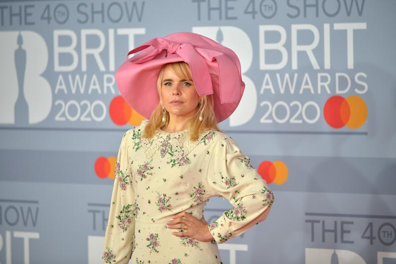 Paloma Faith, seen here in February 2020, admits she didn't know she was suffering from postnatal depression. (Getty Images)